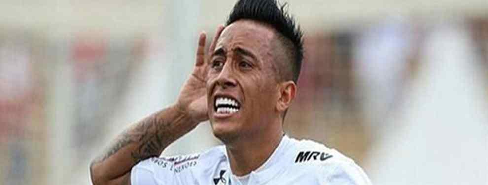 Paolo Guerrero reprendió a Cueva por mala actitud frente a Sao Paulo