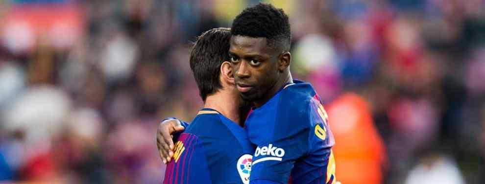 La oferta por Dembélé que mete miedo en el Barça (y a lo bestia)
