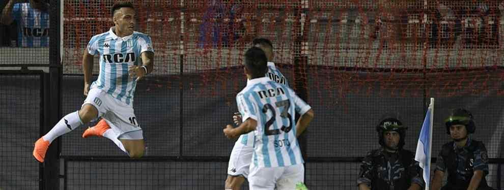 De la mano de Lautaro Martínez, Racing aplastó a Cruzeiro