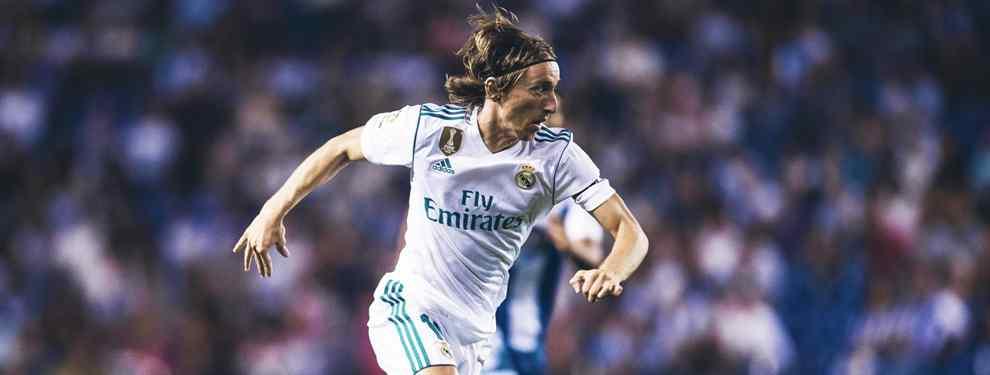 Modric recibe una oferta de locura que deja temblando al Real Madrid (y el crack se lo piensa)