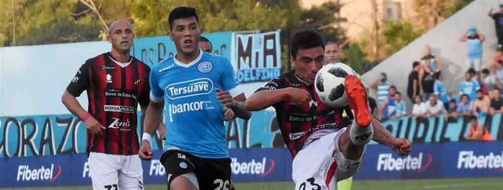 Parecía que Belgrano salía vencedor, pero Patronato reaccionó y le empató con un doblete de Sebastián Ribas, quien quedó como el máximo goleador de la Superliga con 11 tantos, superando por dos a Darío Benedetto.