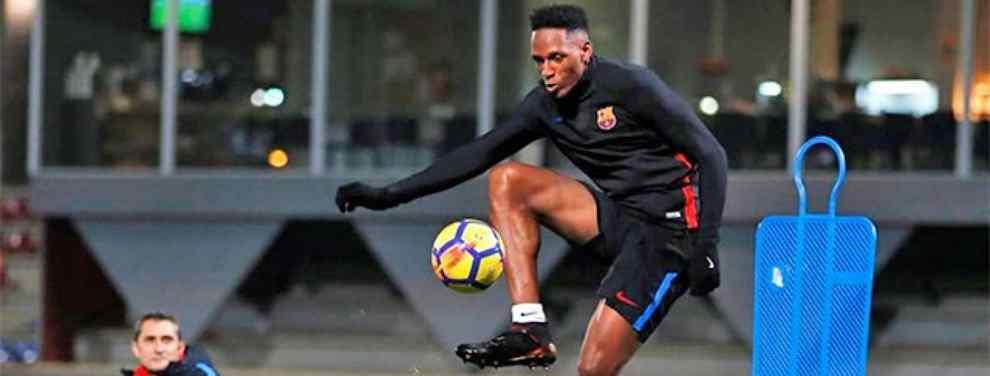 Yerry Mina empieza a ganar apoyos. Tras jugar sólo dos partidos, hay quien pide dentro del vestuario del Barça que Valverde le de más minutos al central colombiano.