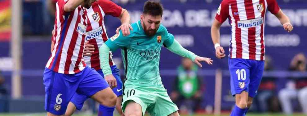 Leo Messi ha pedido el fichaje de un crack del Atlético (y no es Griezmann)