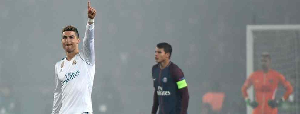 El Real Madrid se impone a un PSG desdibujado gracias a los tantos de Cristiano Ronaldo y Casemiro. El uruguayo Edinson Cavani marcó el tanto para un momentáneo empate del todo estéril