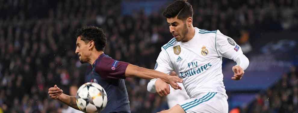 Marco Asensio recibe una oferta de última hora para salir del Real Madrid (y es una bestialidad)