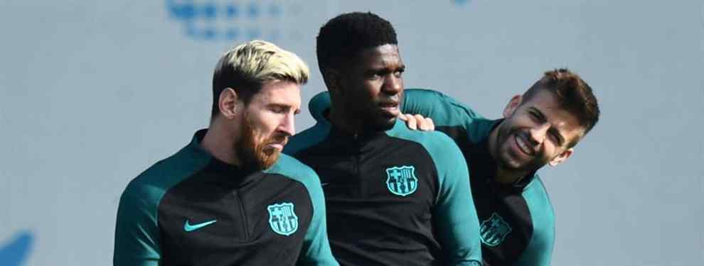 Umtiti le cambia la cara a Piqué: la oferta más bestia para salir del Barça (y no es de Mourinho)