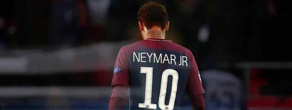 El conjunto francés sabe que será muy difícil retener a la estrella brasileña otro año más en la liga francesa, sobre todo contando que ahora estará cuatro meses sin ningún título en juego.