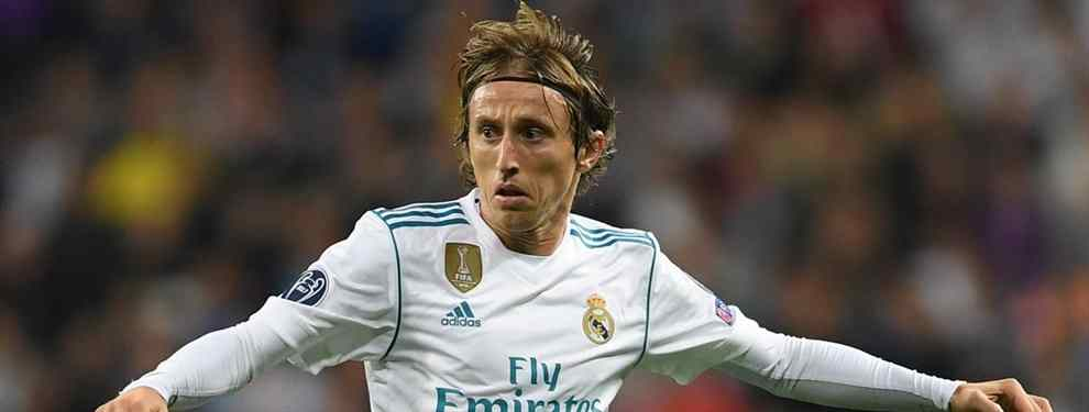 Luka  Modric pone una oferta de 60 millones sobre la mesa de Florentino Pérez