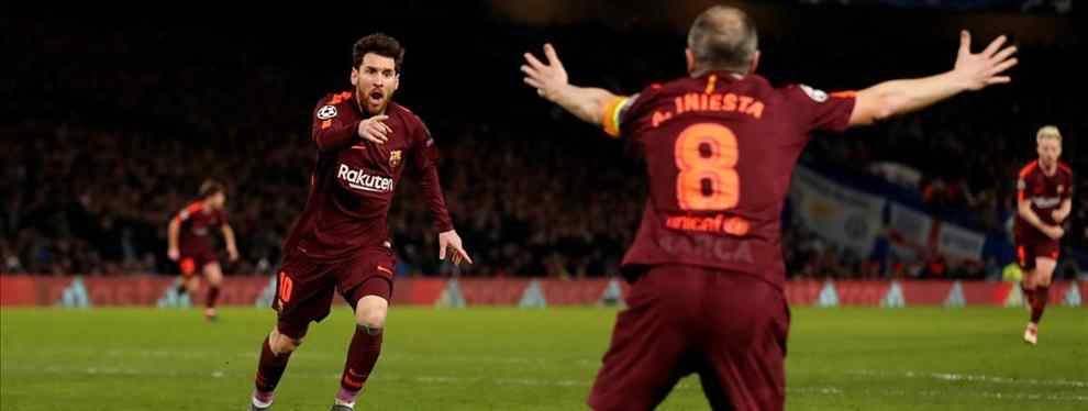 Messi da el nombre del recambio de Iniesta en el Barça: en el vestuario alucinan (y no es Verratti)