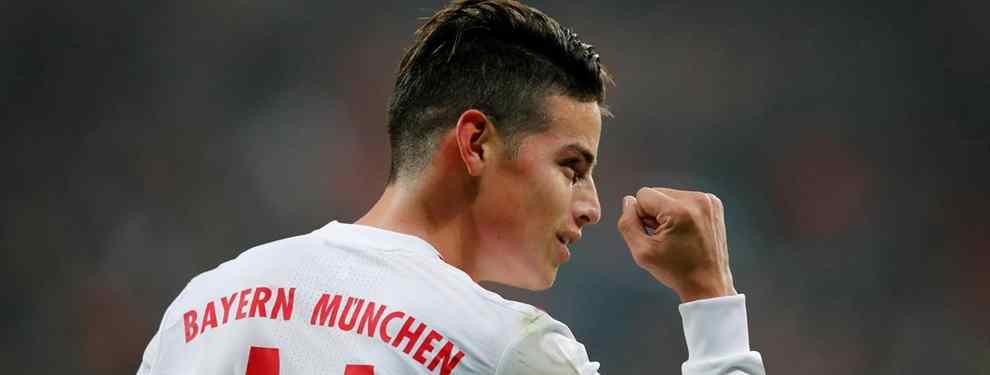 ¿James Rodríguez al Barça? La negociación más secreta del Bayern de Múnich