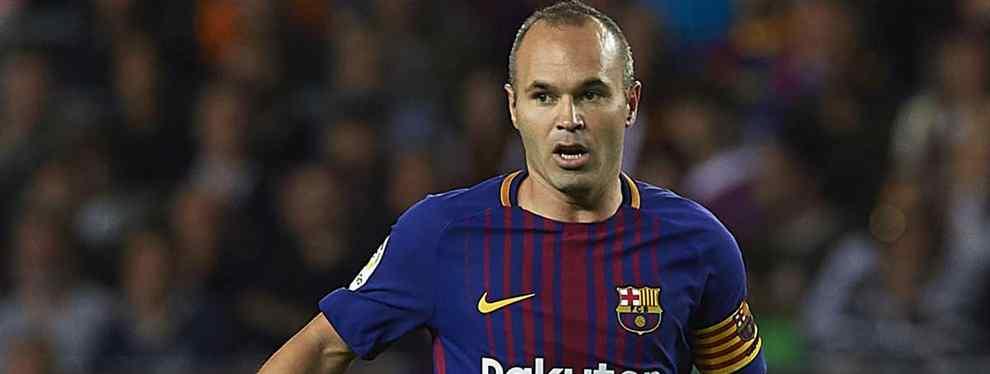 El relevo de Iniesta al que el Barça le ha dicho que no: todos los detalles