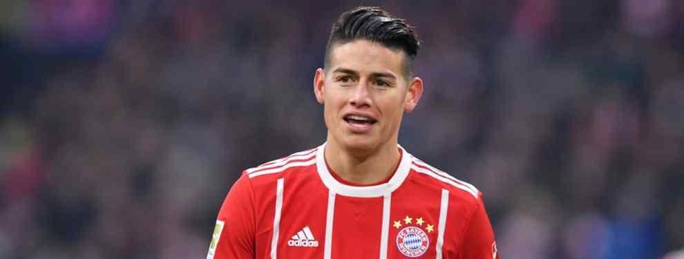 James Rodríguez ha recibido una llamada del todo inesperada de la Premier League. En el Real Madrid están con la boca abierta por el interés que llega por el colombiano.
