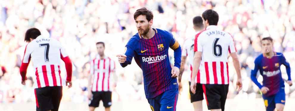 Lo peor para Florentino Pérez está por llegar: Messi destapa el fichaje bomba en el Barça - Athletic