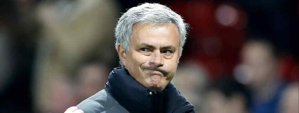 La lista negra de Mourinho en el United (y el crack que quiere Florentino Pérez además de De Gea)