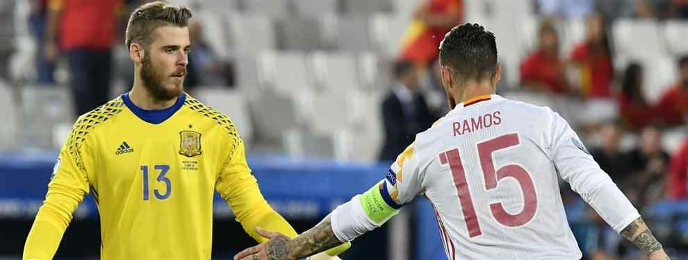 La confesión de De Gea a Sergio Ramos: la estrella del Real Madrid que lo tiene hecho con el United