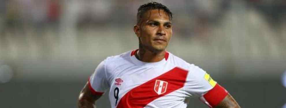 Guerrero no podría vestir la 'blanquirroja' en el Mundial