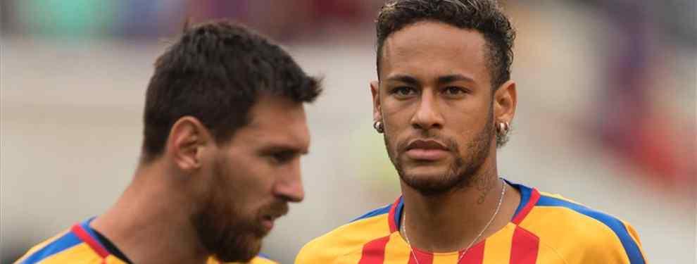 Leo Messi quiere hacer todo lo posible para evitar el fichaje de Neymar por el Real Madrid. El último mensaje que el argentino le ha enviado al brasileño quiere torpedear su llegada al club blanco.
