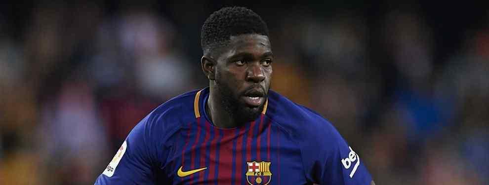 Umtiti se pone chulo: las tres condiciones que pone para seguir en el Barça (con fichaje incluido)