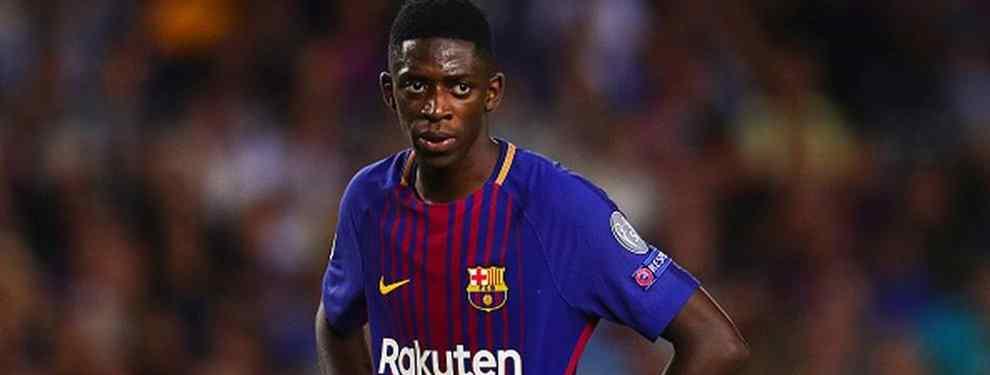 Ousmane Dembélé, cuyo puesto en el Barça quedará seriamente en entredicho con la llegada de Antoine Griezmann, tiene tres opciones para dejar el Camp Nou el verano que viene