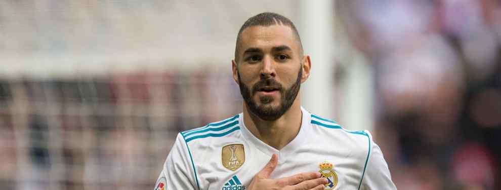 Florentino Pérez ha elegido al tridente para el nuevo curso -Hazard, Lewandowski y Cristiano Ronaldo- y Karim Benzema no tiene sitio en el Real Madrid.