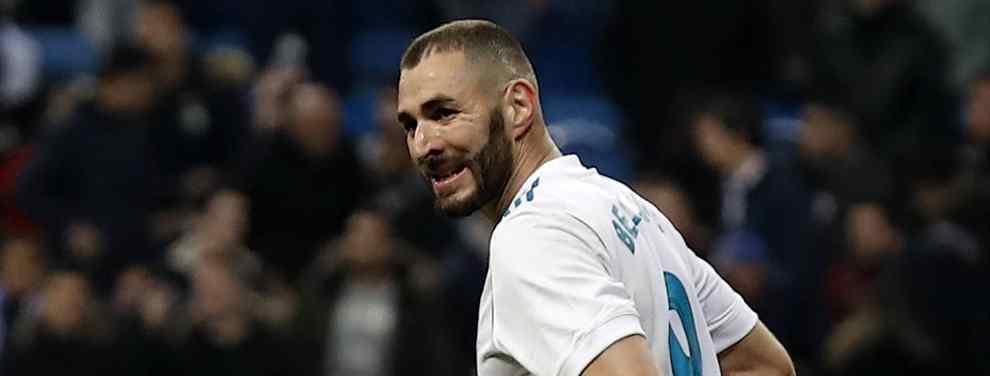 Karim Benzema tiene una oferta encima de la mesa que lo saca del Real Madrid. Un grande de Europa quiere hacerse con el francés de cara a la próxima temporada.