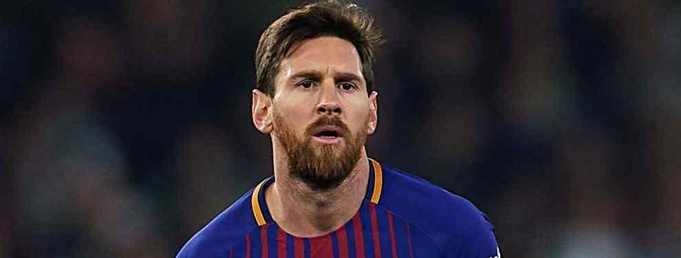 Leo Messi, la estrella argentina del Barça que preside Josep Maria Bartomeu, ha lanzado una advertencia muy seria sobre una de las piezas fundamentales para Ernesto Valverde