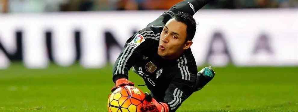 Keylor Navas se la juega a Florentino Pérez: la oferta que lo saca del Real Madrid en verano