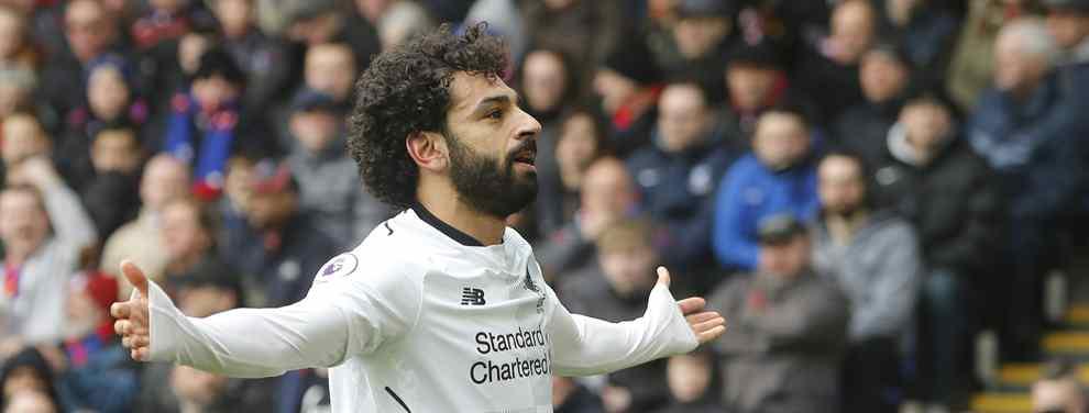 Florentino Pérez se echa a temblar: el grande de Europa que pone 200 millones por Salah