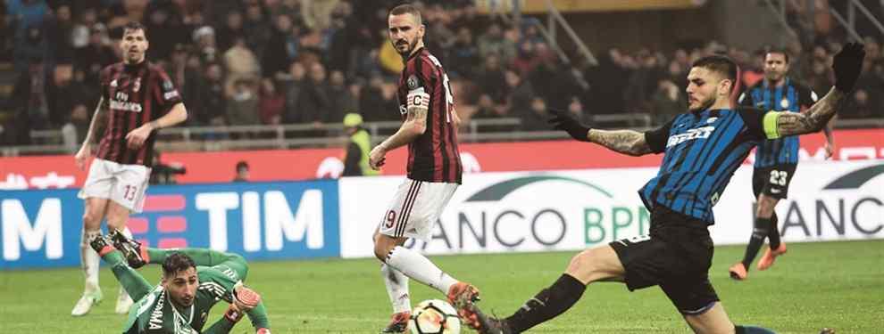"""¡Qué no lo haya visto Sampaoli! Los dos """"goles"""" que increíblemente falló Icardi"""