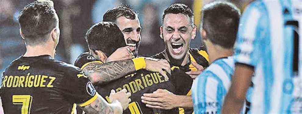 Peñarol le dio un cachetazo a la ilusión de Atlético Tucumán
