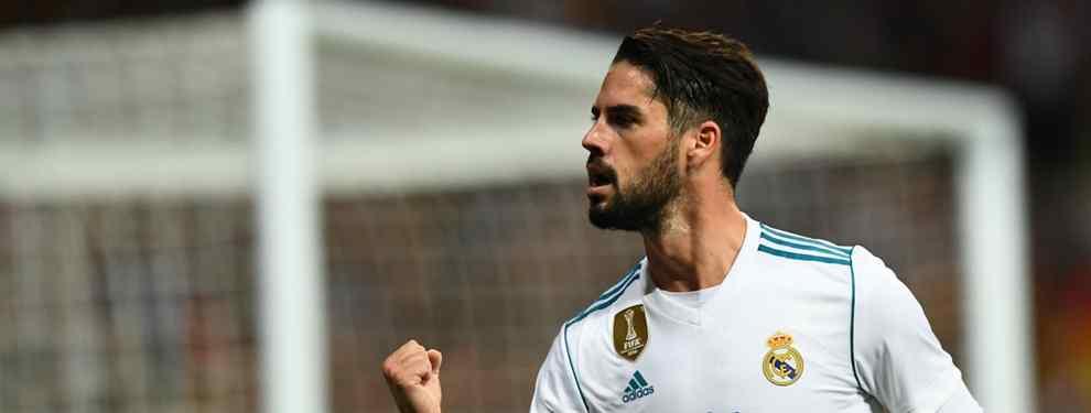 Isco tiene una oferta sorpresa: ¡Y el Real Madrid le prohíbe ir!