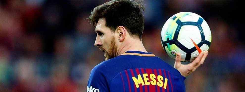 La oferta en firme que saca a un crack del Barça (y con la bendición de Messi)