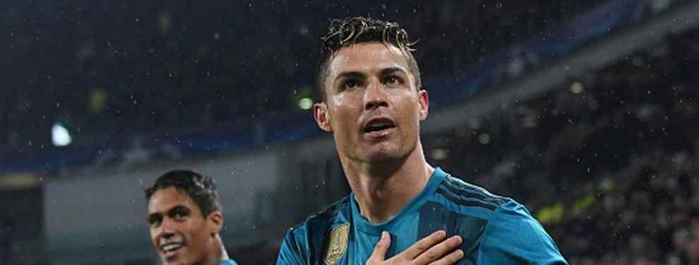 Cristiano Ronaldo tiene una oferta sobre la mesa para salir del Real Madrid en verano. Florentino Pérez ya tiembla con la posible salida del astro portugués del club blanco.