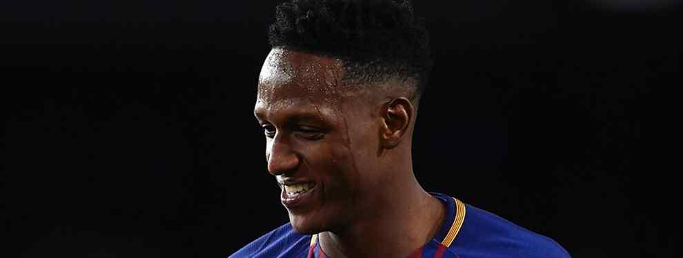Yerry Mina se planta: la oferta que lo saca del Barça este verano (y el enfado con Valverde)