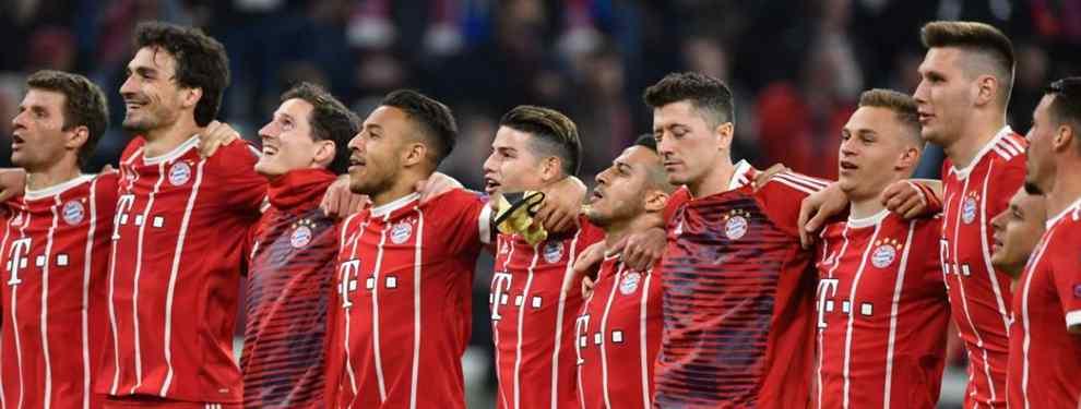 James Rodríguez revienta el Bayern - Real Madrid de Champions: el mensaje en el vestuario blanco