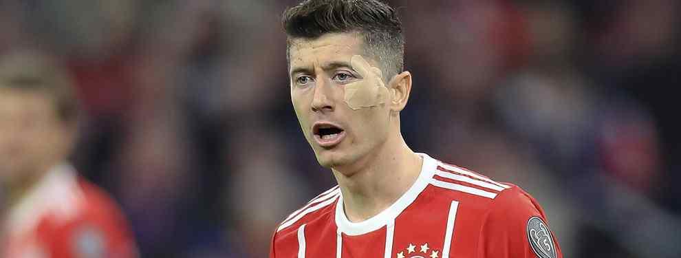 Lo que Lewandowski le ha pedido a Florentino Pérez para fichar por el Real Madrid