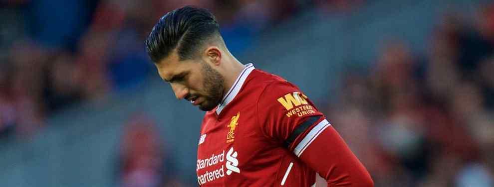 ¡Ofertón del Liverpool! Klopp busca relevo a Emre Can en el Real Madrid (y Florentino Pérez dice sí)