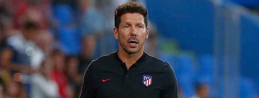 El Cholo Simeone, el técnico argentino del Atlético de Madrid, se ha fijado un objetivo muy sorprendente en las filas del Barça que entrena actualmente Ernesto Valverde