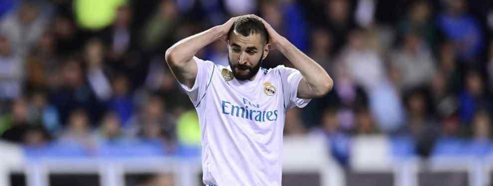 Florentino Pérez ya sabe dónde colocar a Benzema: un cambio de cromos que revoluciona el Real Madrid