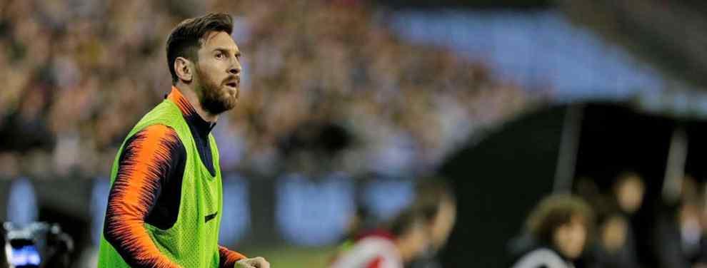Messi le dice a Valverde a quién no quiere ver en el Barça en la final de la Copa del Rey