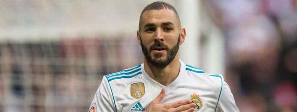 El delantero francés del Real Madrid, Karim Benzema, no quiere saber nada de una propuesta brutal que le ha llegado para dejar el club que preside Florentino Pérez el verano que viene