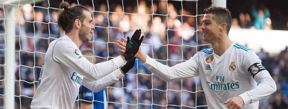 Cristiano Ronaldo ya sabe dónde jugará Gareth Bale la próxima temporada (y el dorsal que llevará)