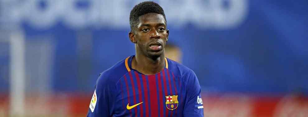 El Barça coloca a Dembélé en una operación para traer un fichaje galáctico