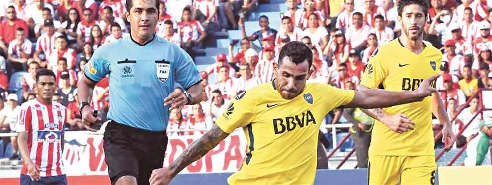 """Tevez y Pavón, los ausentes de lujo en la """"final"""" frente a Junior. Ambos delanteros no estuvieron a la altura del partido y no transmitieron la confianza que necesitaba el equipo"""