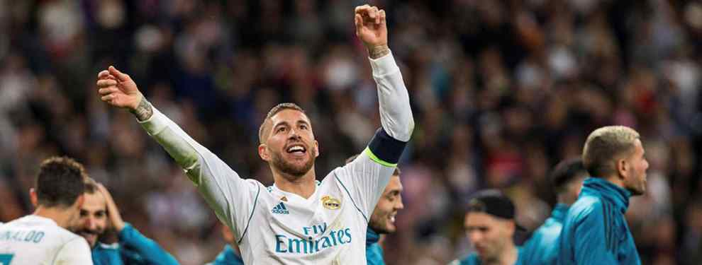 Florentino Pérez recibe presión: Sergio Ramos frena una salida sonada del Real Madrid