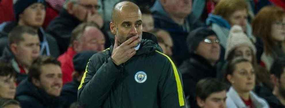 Pep Guardiola, el técnico del Manchester City, maneja una alternativa bestial al fichaje del centrocampista malagueño del Real Madrid (y es un gope durísimo al Barça)