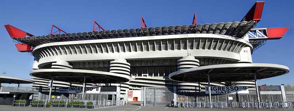 ¡De no creer! El estadio de Milan e Inter tiene vida propia