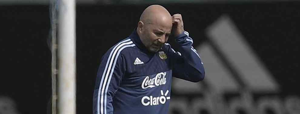 Sampaoli volvió de la gira europea con la lista mundialista ya resuelta: El entrenador del Seleccionado regresó este sábado a Argentina con la nómina ya confirmada