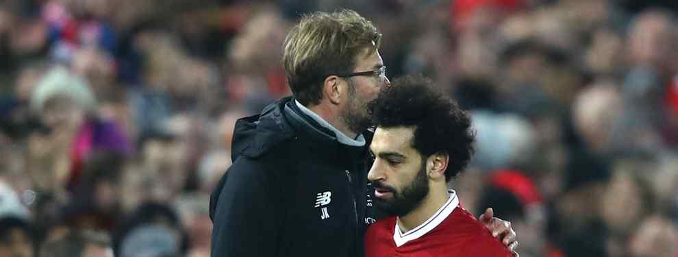 Jürgen Klopp tiene claro lo que tiene que ofrecer el Real Madrid si quiere a Mohamed Salah. El técnico alemán pide tres jugadores del conjunto blanco para dejar ir al egipcio.