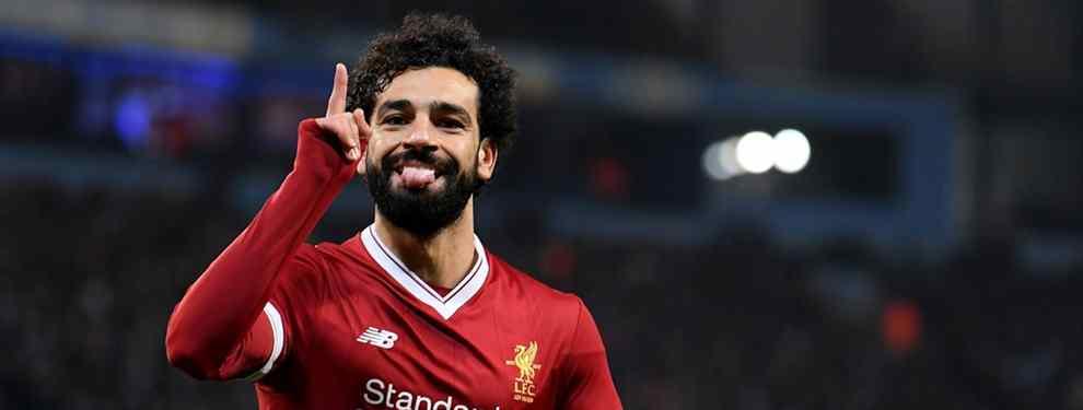 La jugada maestra de Florentino Pérez: se lleva a Salah y echa a un crack del Barça